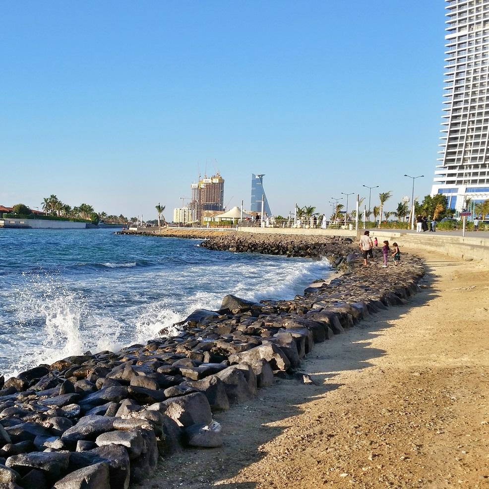 مسار تنظيف الشواطئ